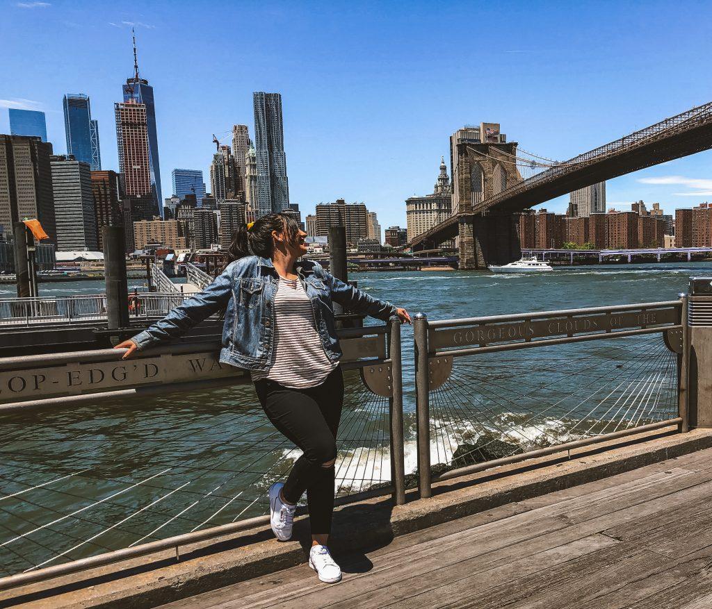 Vistas de Manhattan desde Brooklyn