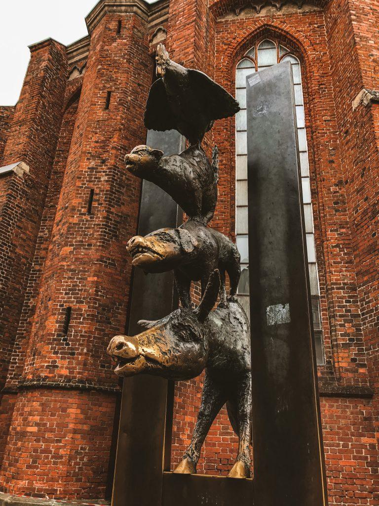Los Músicos de Bremen en Riga