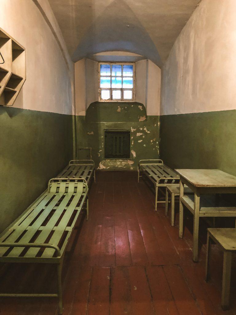 Celda dentro de la sede de la KGB