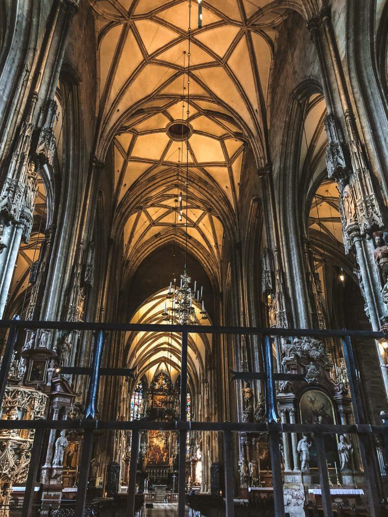 Interior de la Catedral de Viena