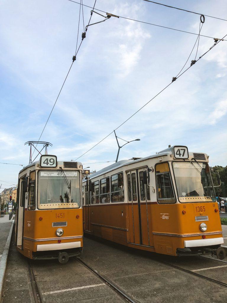 Tranvías de Budapest