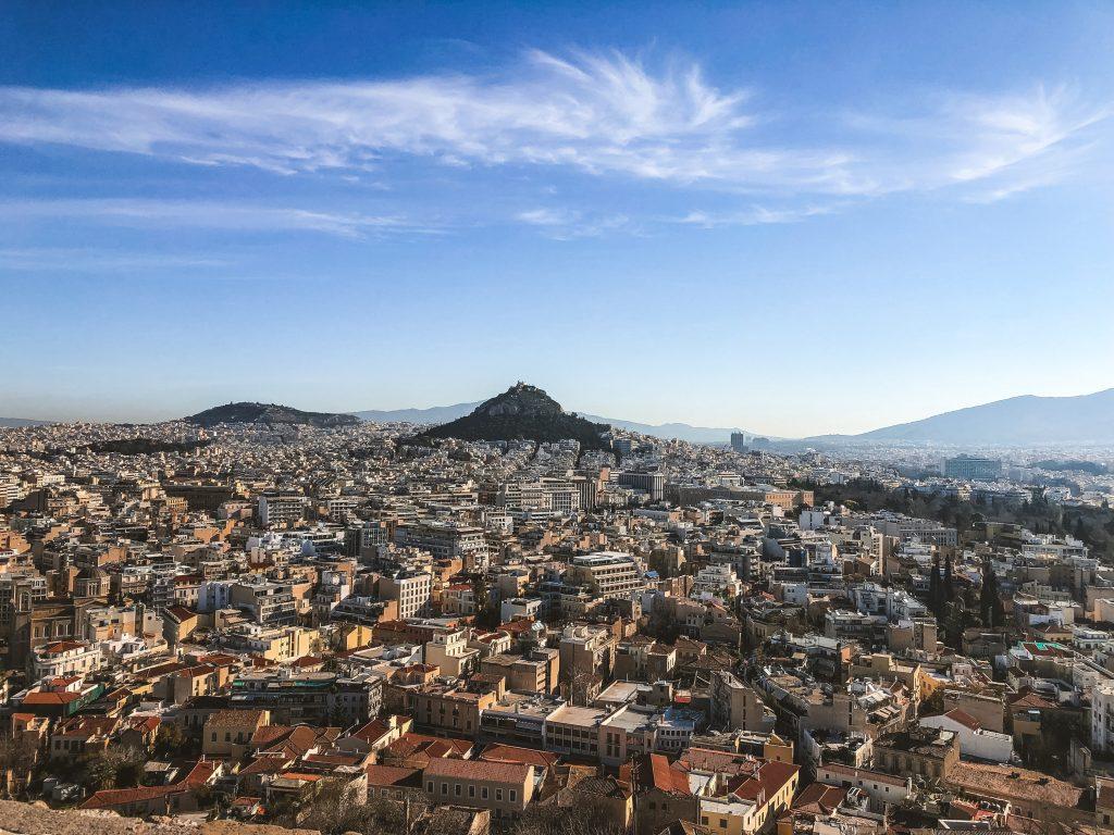 Vistas desde el Acrópolis