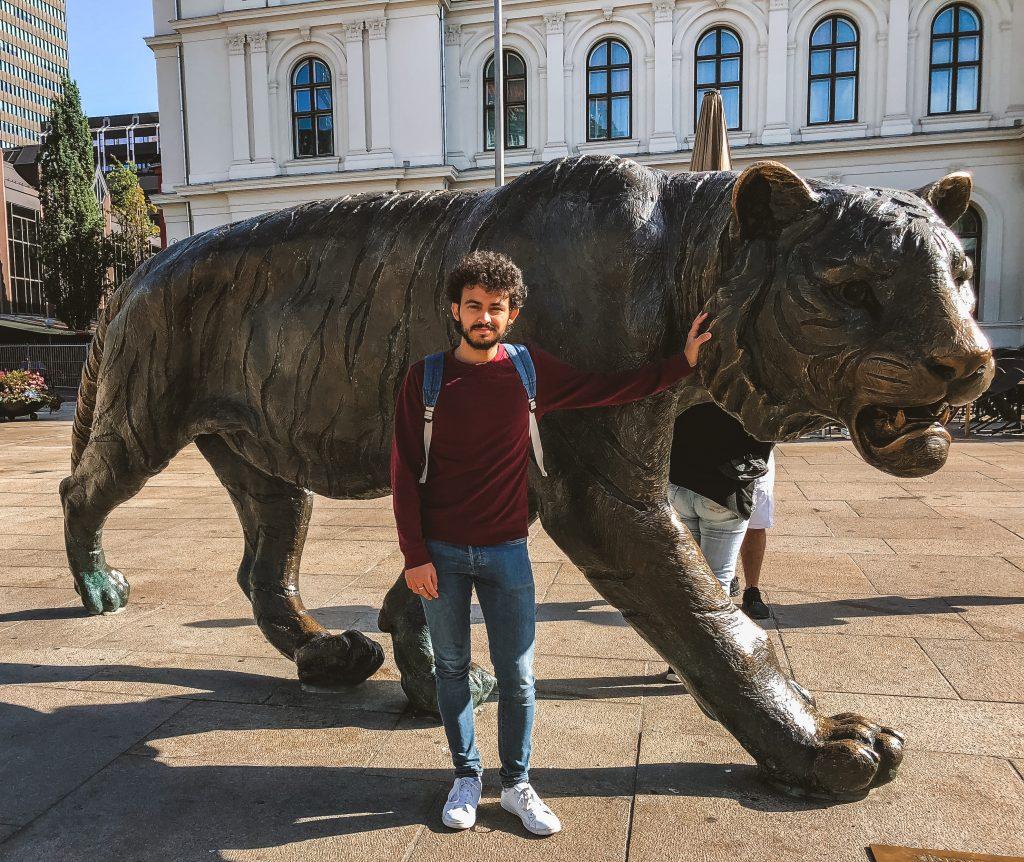 Tigre de la Estación Central