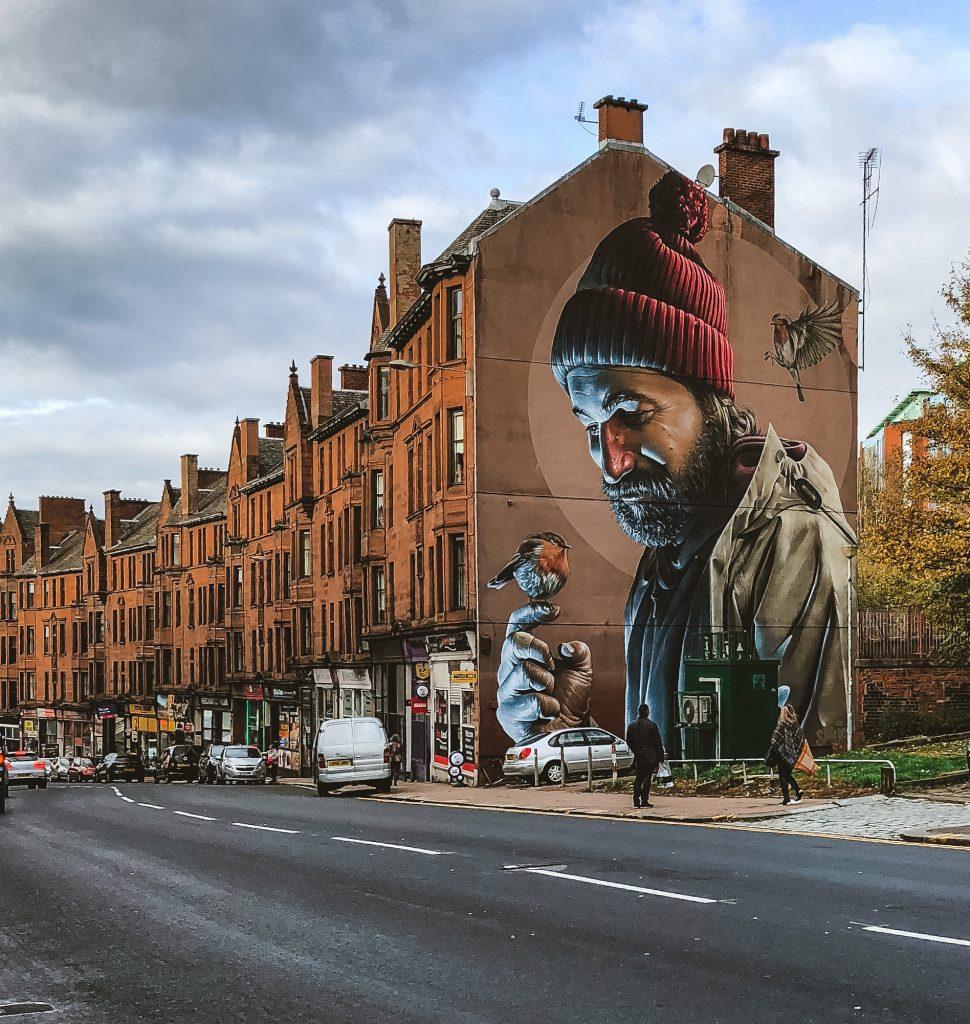 Arte Urbano en Glasgow