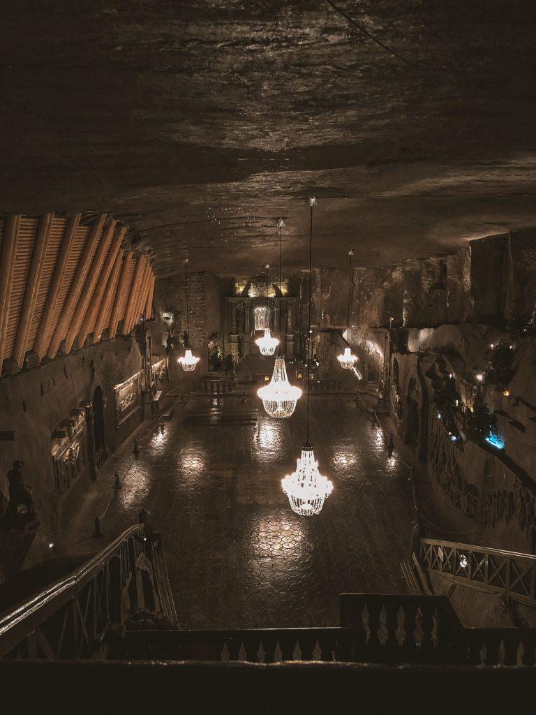 Capilla dentro de las Minas de Sal de Wieliczka