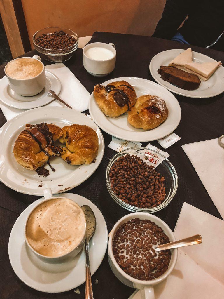 Desayuno del Hotel San Remo