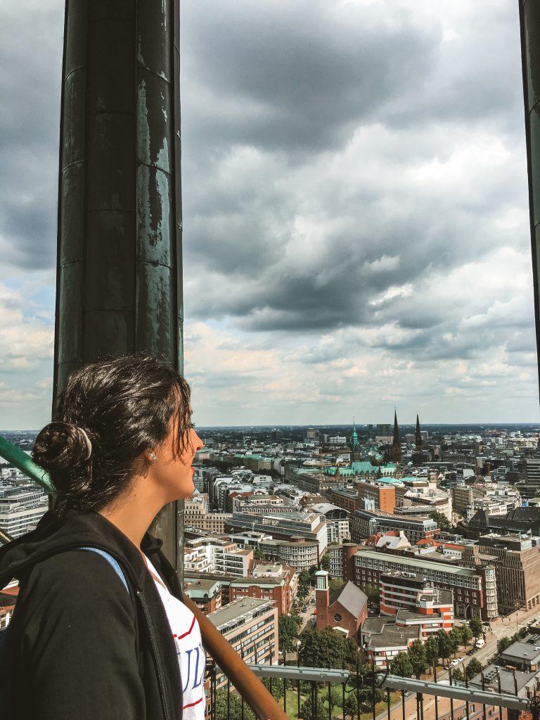 Vistas desde la torre de St. Michaelis